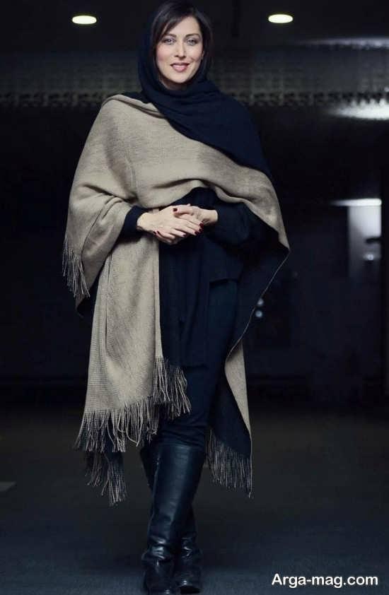 مدل لباس زمستانی بازیگران در جشنواره فجر