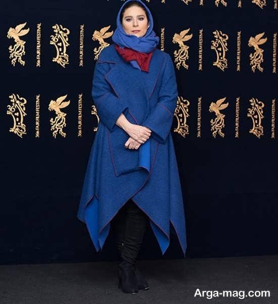 مدل مانتوی زمستانه بازیگران ایرانی