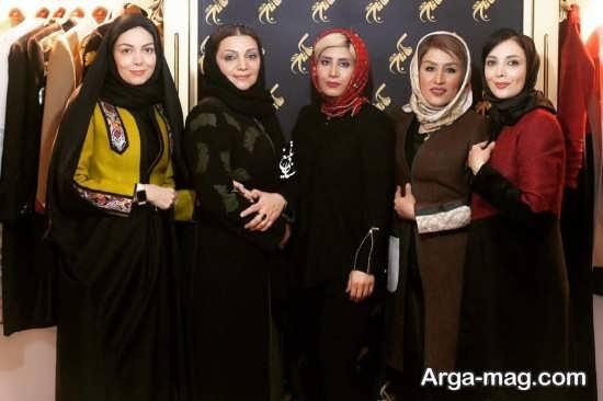 مدل مانتوی بازیگران زن ایرانی در جشنواره فجر سال 96