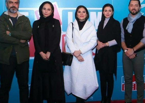 مانتوی بازیگران در جشنواره فجر 96