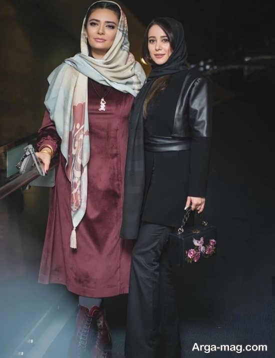 مدل مانتوی بازیگران زن ایرانی در فیلم فجر