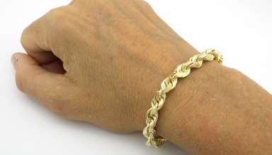 مدل دستبند طلا مردانه