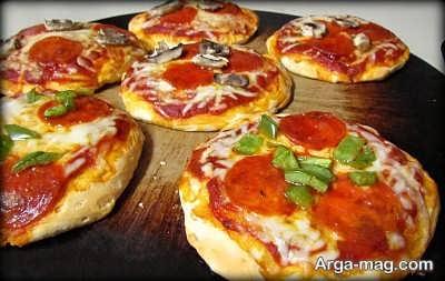 روش تهیه مینی پیتزا