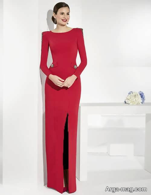 مدل پیراهن مجلسی بلند و زیبا