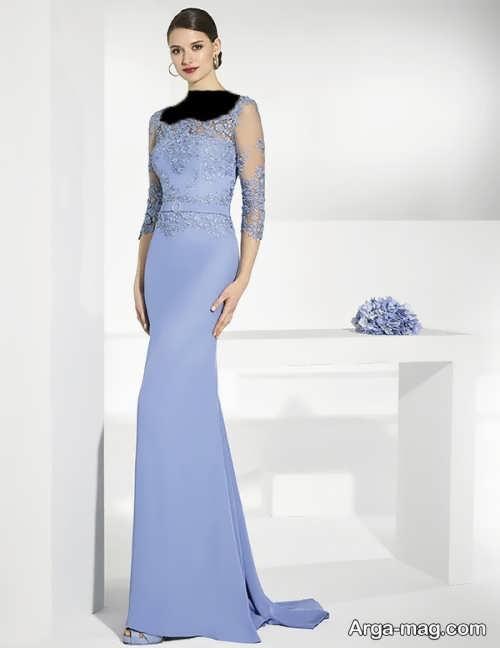 مدل لباس مجلسی بلند و زیبا