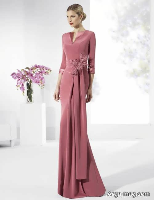 مدل لباس مجلسی بلند جدید در اینستاگرام