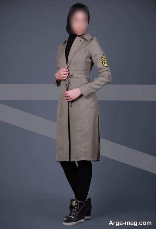 مدل مانتوی بلند اسپرت