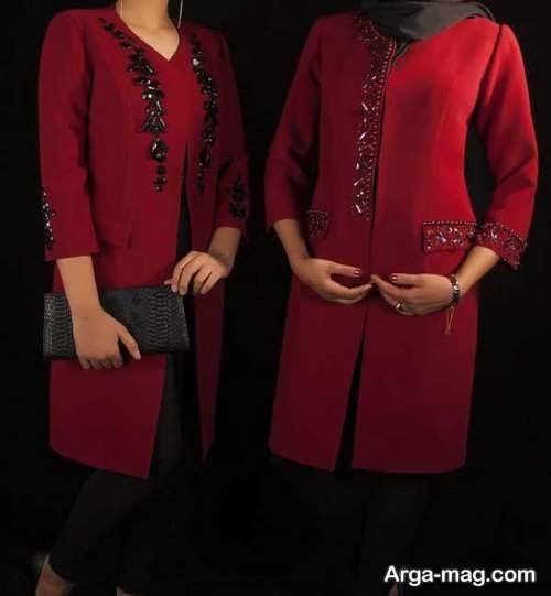 مدل مانتوی عید 97