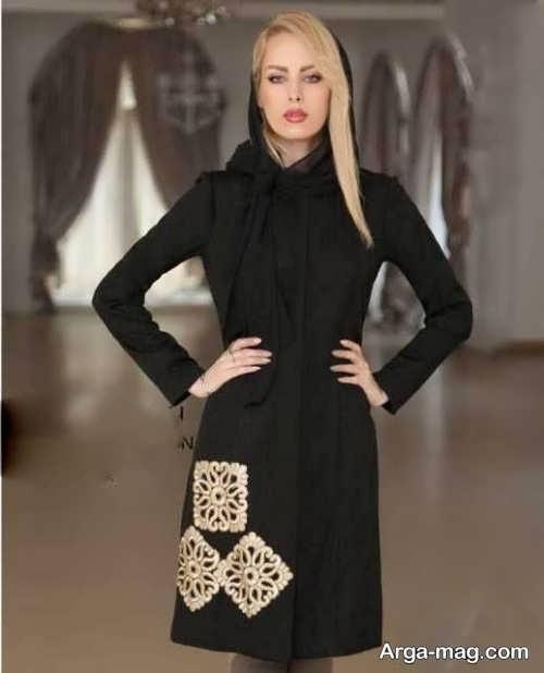 مدل مانتو طرح دار برای عید نوروز