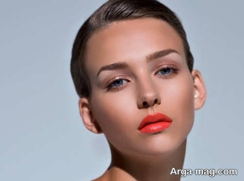 مدل آرایش صورت دخترانه مجلسی