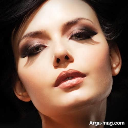 مدل آرایش صورت ملایم