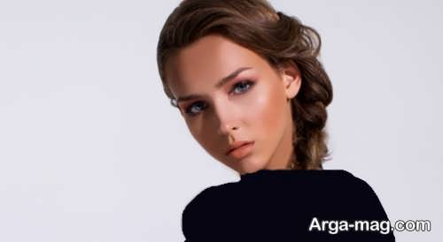 مدل آرایش صورت لایت و زیبا