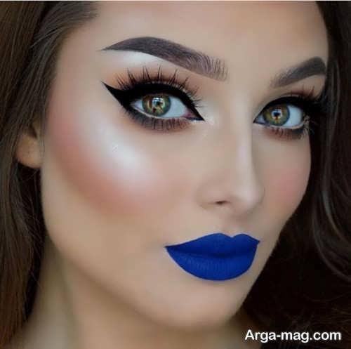 مدل آرایش صورت مجلسی زنانه