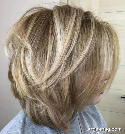 مدل سشوار شیک موی کوتاه