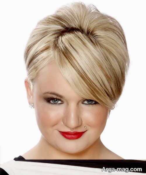 مدل آرایش مو کوتاه و زیبا