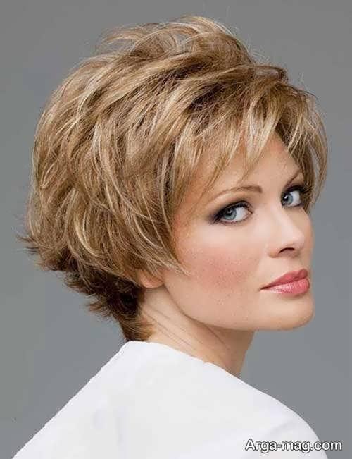 مدل سشوار شیک برای موی کوتاه