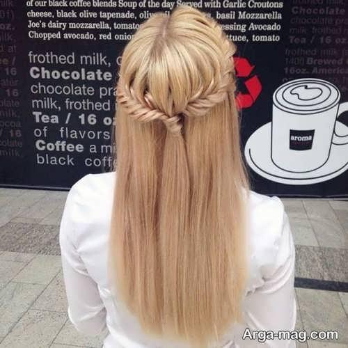 مدل موی ساده و زیبا دخترانه