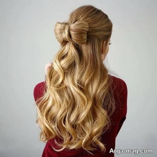مدل مو دخترانه باز و بسته