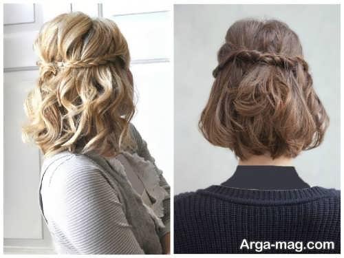 مدل موی کوتاه باز