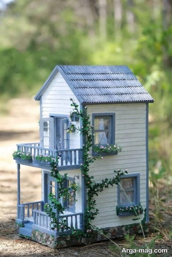 ساخت خانه چوبی همراه با تزیین