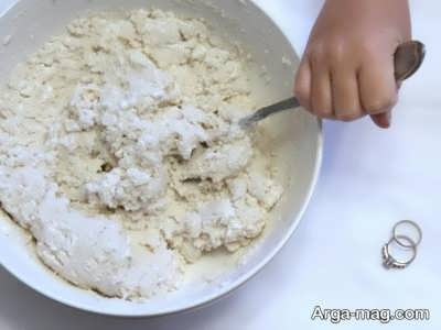 طرز تهیه خمیر نمکی