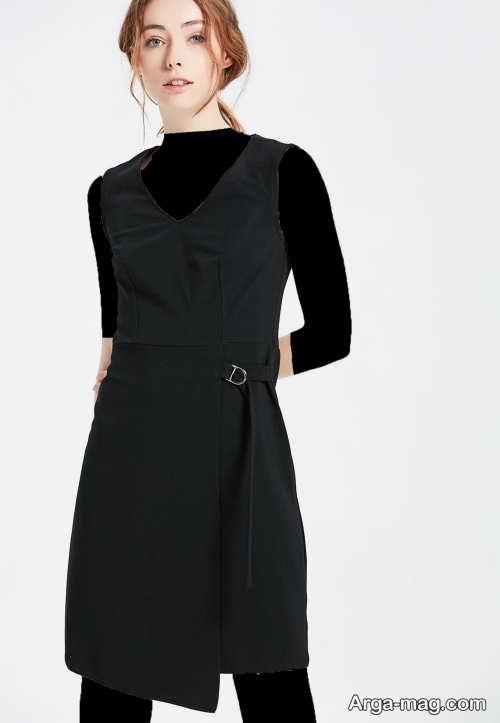 لباس مجلسی ساده مشکی