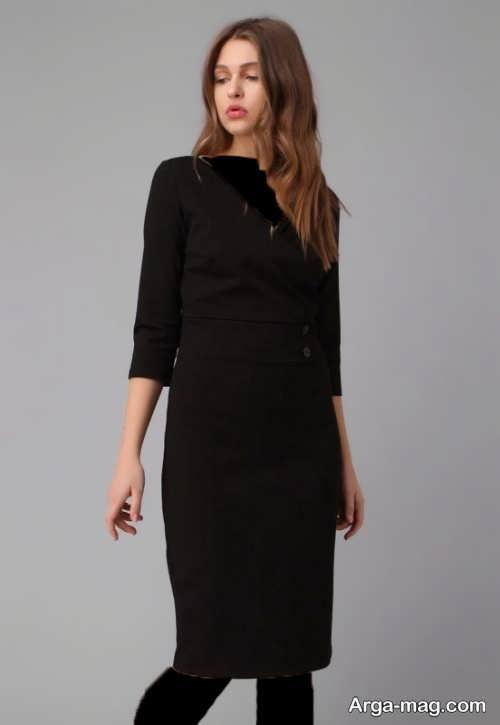 مدل لباس مجلسی زنانه مشکی