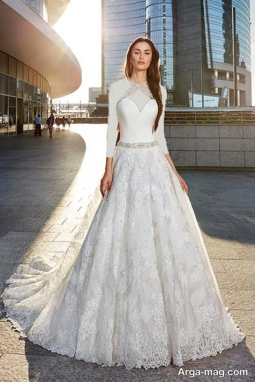 لباس عروس گیپور و جذاب