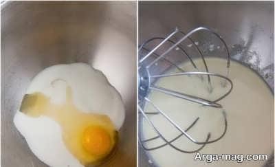 تخم مرغ و شیر