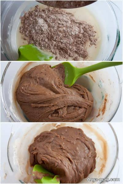 مراحل تهیه کیک اسپارتاک