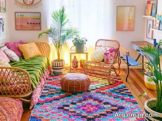 چیدمان سنتی خانه