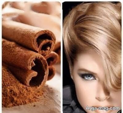 روشن کردن مو با پودر دارچین