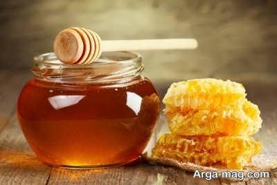 روشن کردن مو با عسل