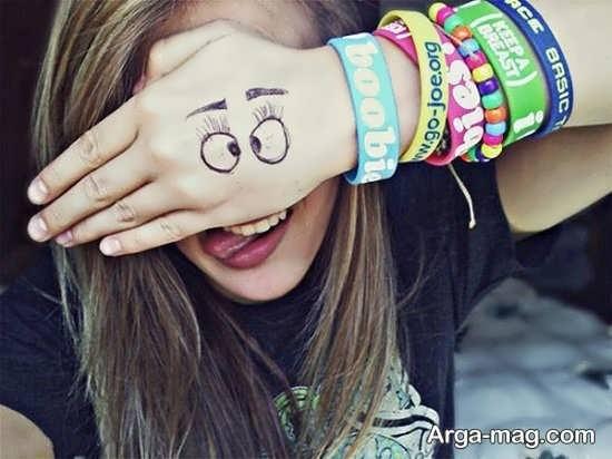 عکس دخترانه شاد و خاص