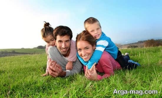 عکاسی در طبیعت با خانواده