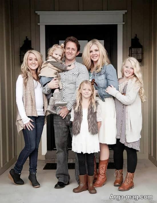 عکس خانوادگی با ژست خاص