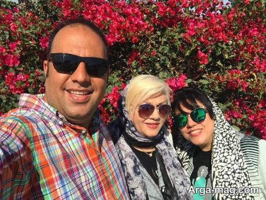 علی اوجی و خانواده اش