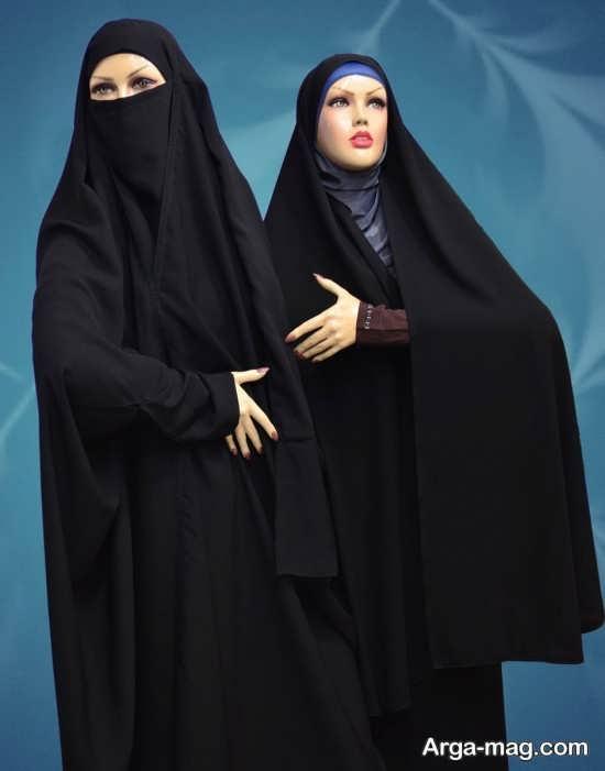 چادر لبنانی پوشیده