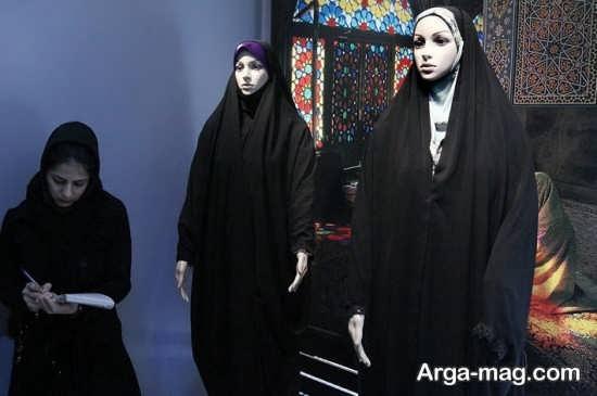نمونه های مختلف چادر لبنانی
