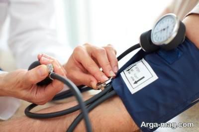 درمان افت فشار در منزل
