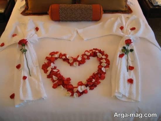 تزیین تخت عروس باگل