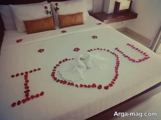 دکوراسیون عالی تخت عروس