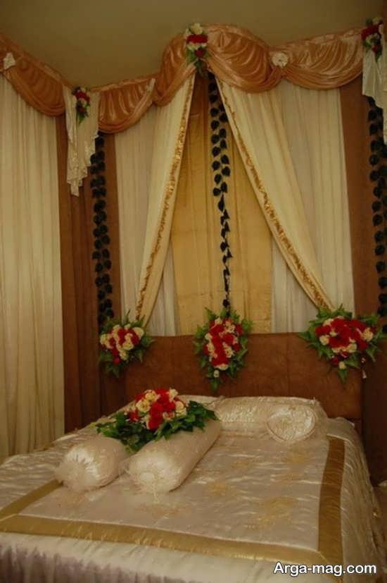 طراحی اتاق عروس با گل