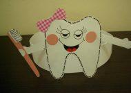 کاردستی دندان