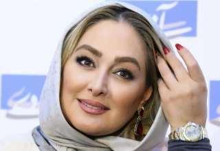 عکس های الهام حمیدی در گالری نقره همسر نیوشا ضیغمی