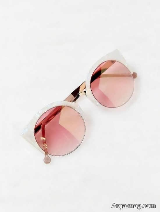 مدل زنانه عینک آفتابی جیوه ای