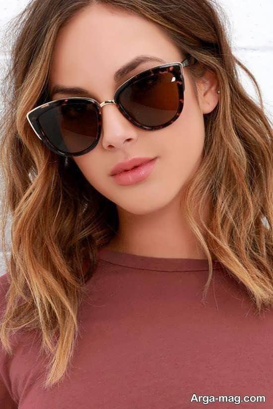 مدل دخترانه عینک آفتابی