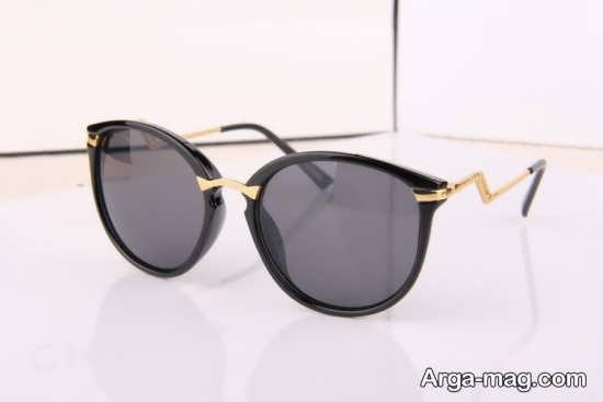 عینک آفتابی با فرم خاص