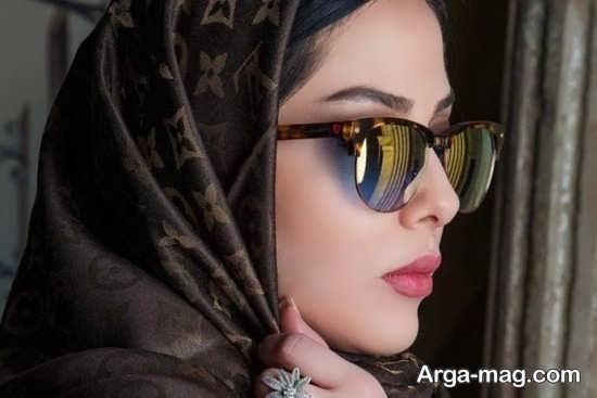 عینک آفتابی بازیگر زن