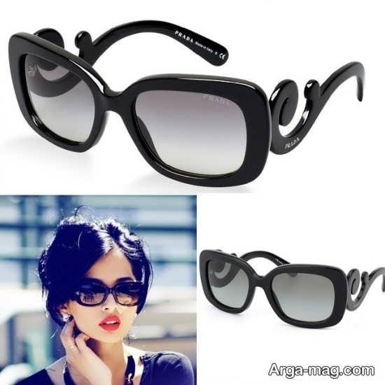 عینک آفتابی طرح زنانه